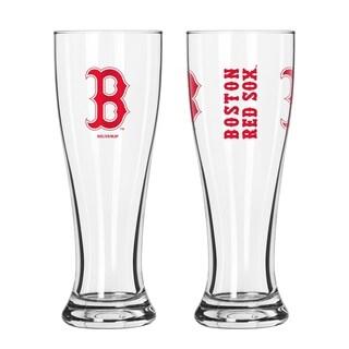 MLB Boston Red Sox 2-Pack Gameday Pilsner Set - Multi