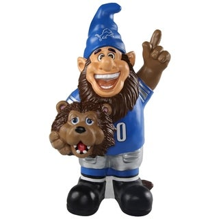 Detroit Lions NFL Caricature Garden Gnome - multi
