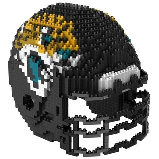 Jacksonville Jaguars NFL 3D BRXLZ Mini Helmet Building Set - multi