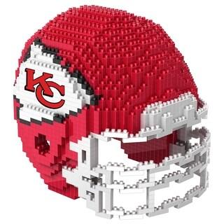 Kansas City Chiefs NFL 3D BRXLZ Mini Helmet Building Set - multi