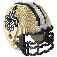 New Orleans Saints NFL 3D BRXLZ Mini Helmet Building Set - multi