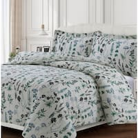 Fleur 170-GSM Cotton Flannel Printed Oversized Duvet Set
