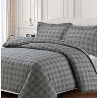 Savannah 170-GSM Cotton Flannel Printed Oversized Duvet Set