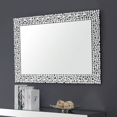 Silver Orchid D'Alcy Rectangular Wall Mirror - A/N