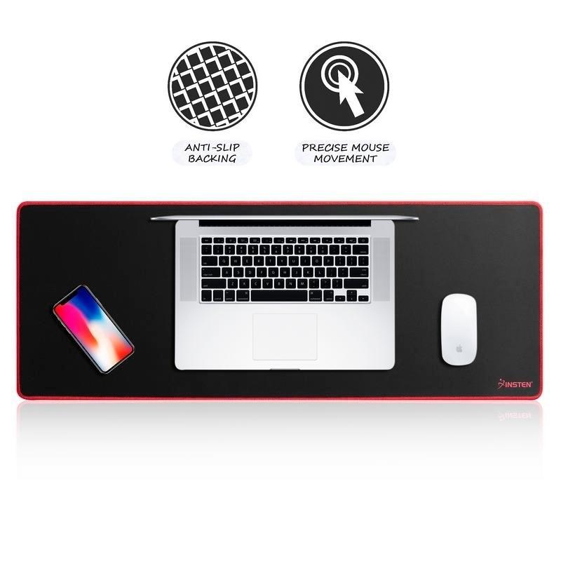 Black Slim Thin Comfortable Optical Mouse PAD Mouse Mat Anti-Slip Game PC