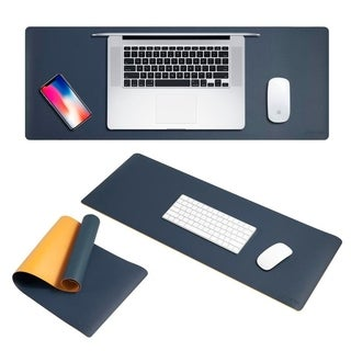 Insten 31.5-inch Double-sided XXL Waterproof Large Extended Leather Mouse Pad