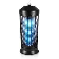 SereneLife PSLBZ42 Waterproof Electric Plug-in Bug Zapper, In/Outdoor - Black