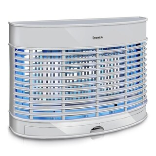 SereneLife Indoor Electronic Plug-in Bug Zapper - Chemical-Free - White