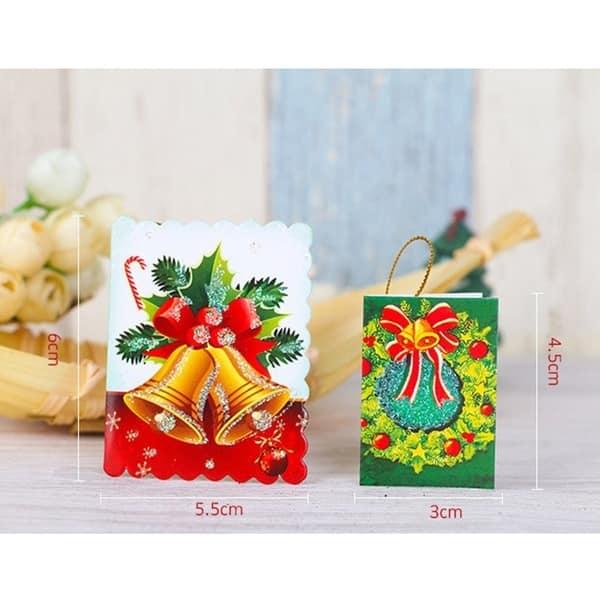 Unique Christmas Cards.Shop 10pcs Bag Unique Christmas Greeting Cards Colorful
