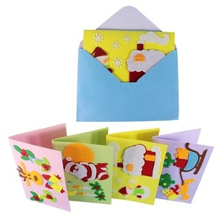 30pcs Christmas Gift For Teachers And Students Creative Non - woven Greetings CARDS - MultiColor