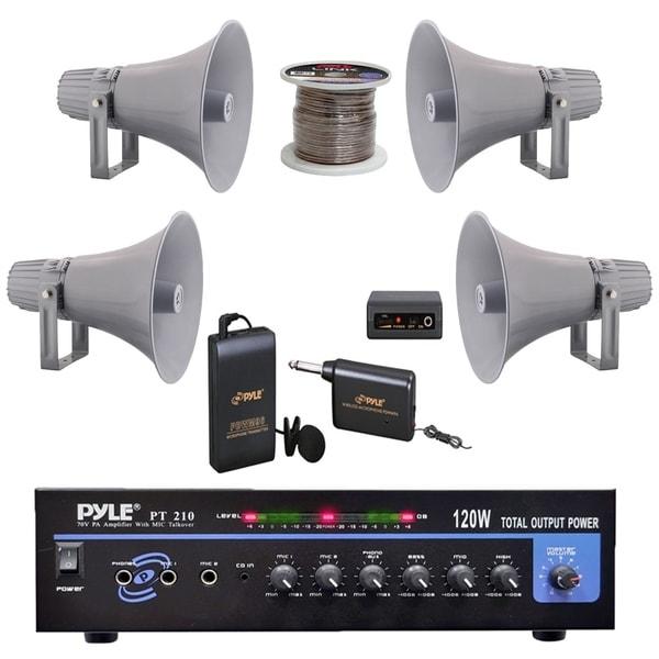pyle pt210 pa mono amplifier, 12 7