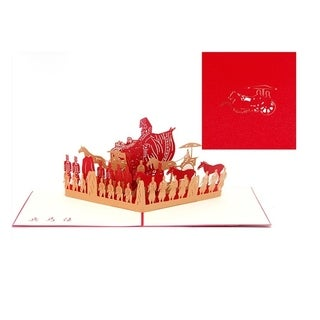 20pcs 3D card Terracotta Army