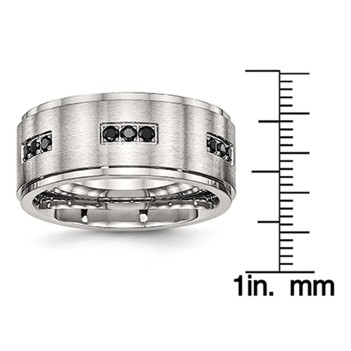Fashion Stainless Steel Jewelry Simple Love Round JEWURA Couple Love Ring