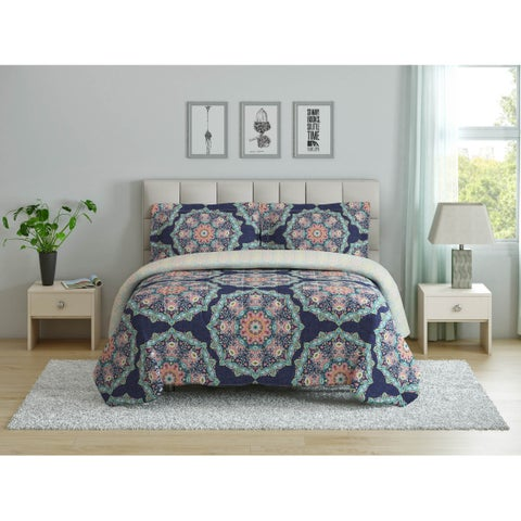 Peach & Oak - Tribal Medallion Comforter Set