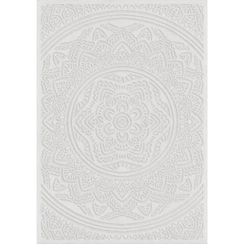 Orian Rugs Boucle Mandala