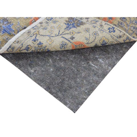 """1/8"""" Thick High Quality Rug Pads(Round 4' x 4') - Beige - 3'10"""" x 3'10"""""""