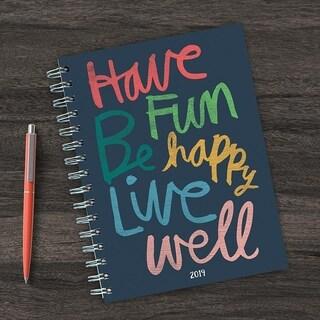 2019 Have Fun by Hallmark Medium Weekly Monthly Planner