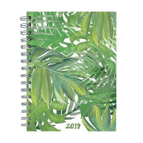 2019 Leaves Medium Weekly Monthly Planner