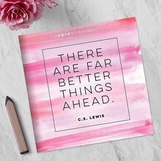 2019 Better Things Ahead Large Monthly Planner