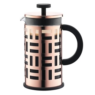 Bodum EILEEN French Press Coffee Maker, 8 Cup, 1.0 L, 34oz, Copper