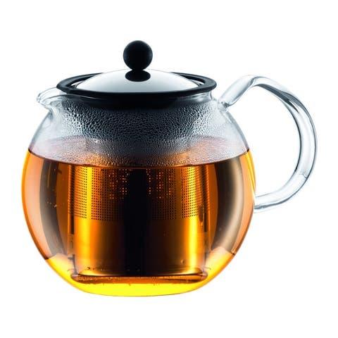 Bodum ASSAM Tea press with s/s filter, 1.5 l, 51 oz, Chrome
