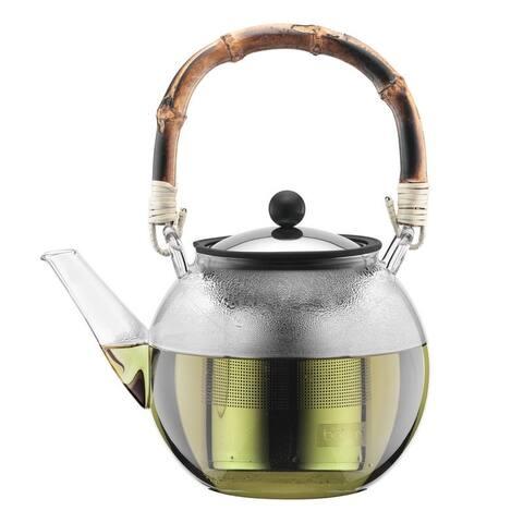 Bodum ASSAM Tea Press 1.0l, Wood Handle