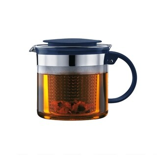 Bodum BISTO NOUVEAU Tea Pot, 1.5 L, 51 oz, Navy