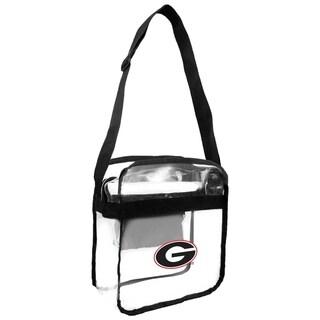 University Of Georgia Bulldogs NCAA Clear Carryall Cross Body Bag Multi