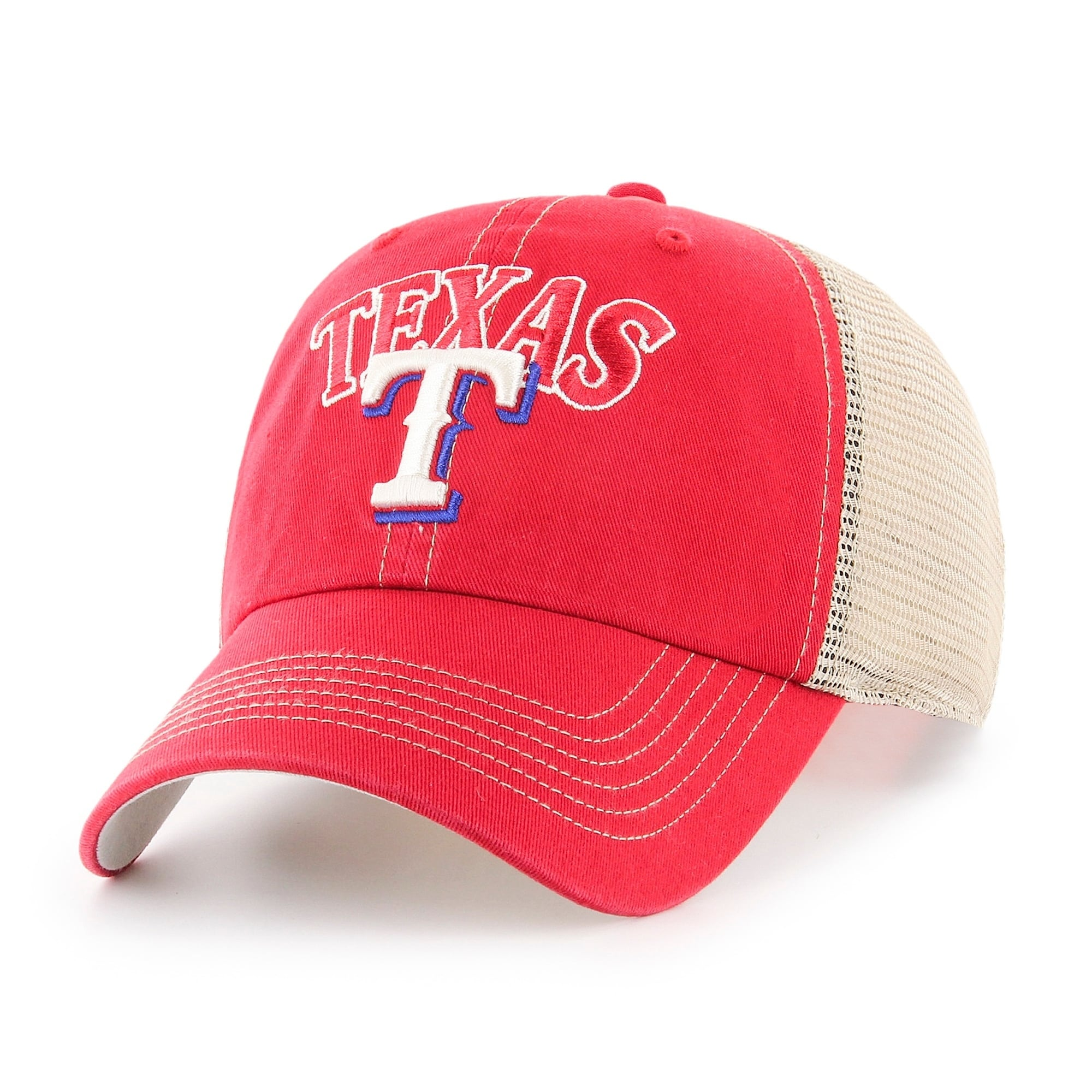 Mlb Texas Rangers Aliquippa Adjustable Cap Multi On Sale Overstock 23505767