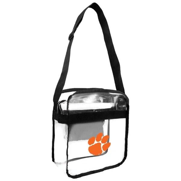 c03bf424888c Shop Clemson University Tigers NCAA Clear Carryall Cross Body Bag ...