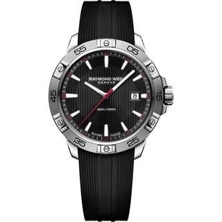 Raymond Weil 8160-SR2-20001 Men's Tango Black Quartz Watch