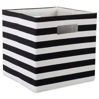"DII Polyester Decorative Storage Cube (11 x 11 x 11 inches) - 11"" x 11"" x 11"""