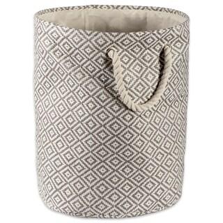 DII Round Woven Paper Decorative Storage Bin