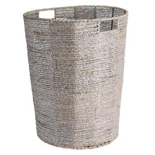 "DII Round Woven Seagrass Decorative Storage Bin - 16"" x 16"" x 20"""