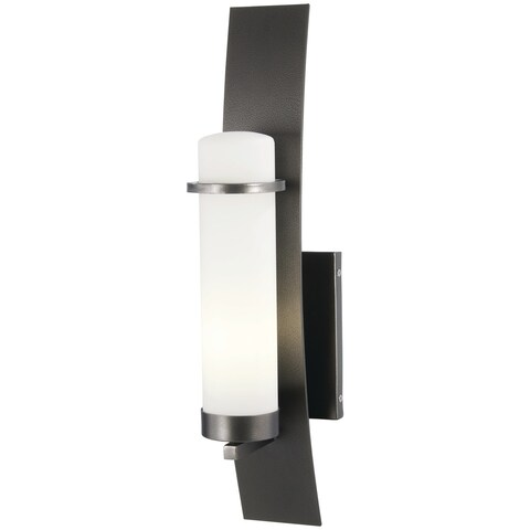Arcus Truth 1-Light Smoked Iron Outdoor Wall Mount