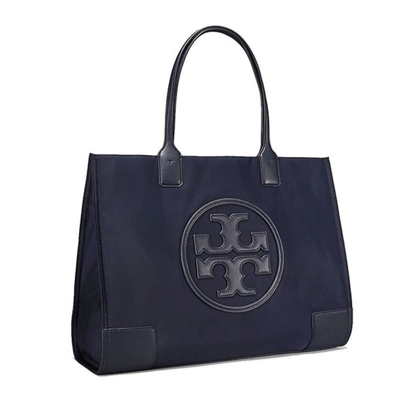 003459ae020 Shop Tory Burch Ella Nylon and Leather Tote - On Sale - Free Shipping Today  - Overstock - 23506064