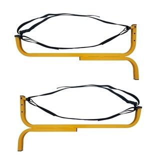 RAD Sportz Level Canoe Hanger Kayak Rack and Stand-Up Paddle Board Holder Yellow
