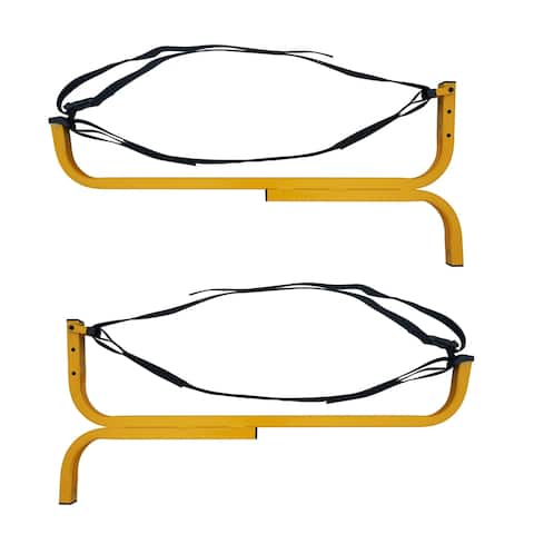 RAD Sportz Level Canoe Hanger Kayak Rack and Stand-Up Paddle Board Holder Yellow