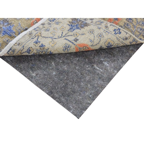 """1/8"""" Thick High Quality Rug Pads(Square 4' x 4') - Beige - 3'10"""" x 3'10"""""""