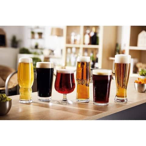 Luminarc 6 Piece Craft Brew Assorted Beer Set - 16 Ounce