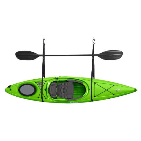 Single Kayak Storage Strap Garage Canoe Hoists 55 lb Capacity Lifetime Warranty RAD Sportz
