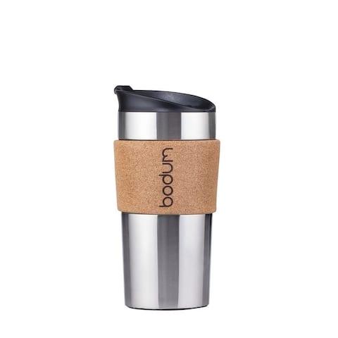 Bodum TRAVEL MUG Travel mug, 0.35 l, 12 oz, Cork