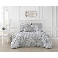 Jacqueline Pinch Pleat 6-piece Comforter Set
