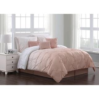 Bergen Ombre Pinch Pleat 7-piece Comforter Set