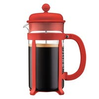Bodum JAVA French Press coffee maker, 8 cup, 1 l, 34 oz, Red