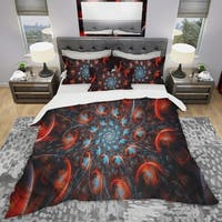 Designart 'Rapid Expansion' Modern & Contemporary Bedding Set - Duvet Cover & Shams