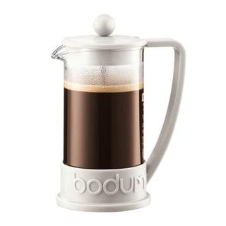 Bodum BRAZIL French Press coffee maker, 3 cup, 0.35 l, 12 oz, White