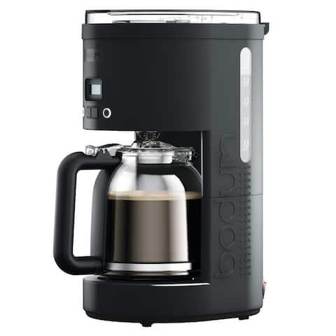 Bodum BISTRO Programmable Coffee maker, Black