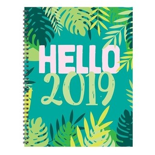 2019 Hello Large Weekly Monthly Planner