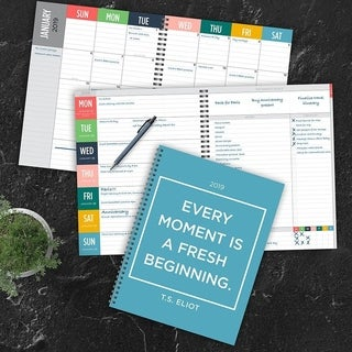 2019 Every Moment Large Weekly Monthly Planner